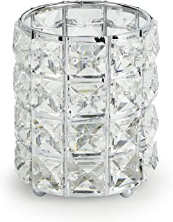 Candle Holders (Cylindrical-Silver)