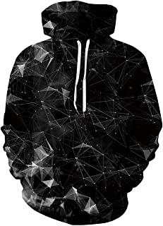 Goodstoworld Mens Womens Cool 3D Print Hoodies Front Pocket Pullover Tops Sweatshirt Hip Hop Outerwear S-XXL