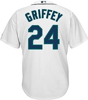 Ken Griffey Jr. Seattle Mariners #24 MLB Men's Cool Base Home Jersey (XLT)