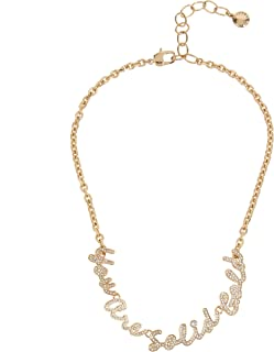 YOU ARE SOLID GOLD Frontal Necklace