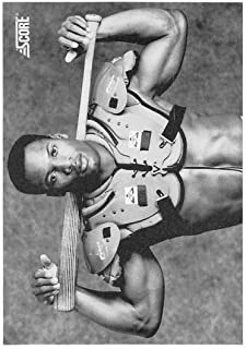 1990 Score Bo Jackson Black and White - Football / Baseball Card #697