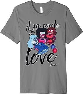 CN Steven Universe I Am Made Of Love Premium T-Shirt