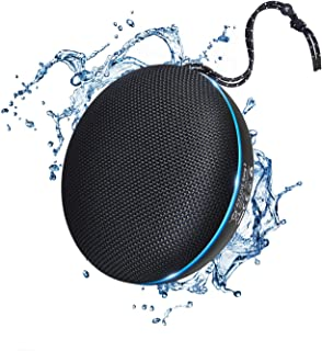 Axloie Portable Bluetooth Speaker, IPX6 Waterproof Bluetooth 5.0 Wireless Speaker with DSP Tech Stereo Audio and Deep Bass, 20 Hours Playtime