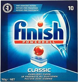英國原裝正品進口Finish亮碟洗碗機專用洗滌塊經典版10粒裝×4盒