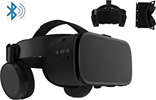 """3D Virtual Reality Headset Glasses Compatible for Android iOS iPhone 12 11 Pro Max Mini X R S 8 7 Samsung 4.7-6.2"""" Cellpho..."""
