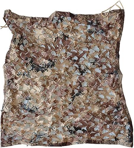 M-Y-L Camo nettingFilet d'ombrage, Filet de Camouflage du désert pour Cour extérieure, abri de Fleurs, Filet de Camouflage pour Enfants (Taille  2x3m),4  6m