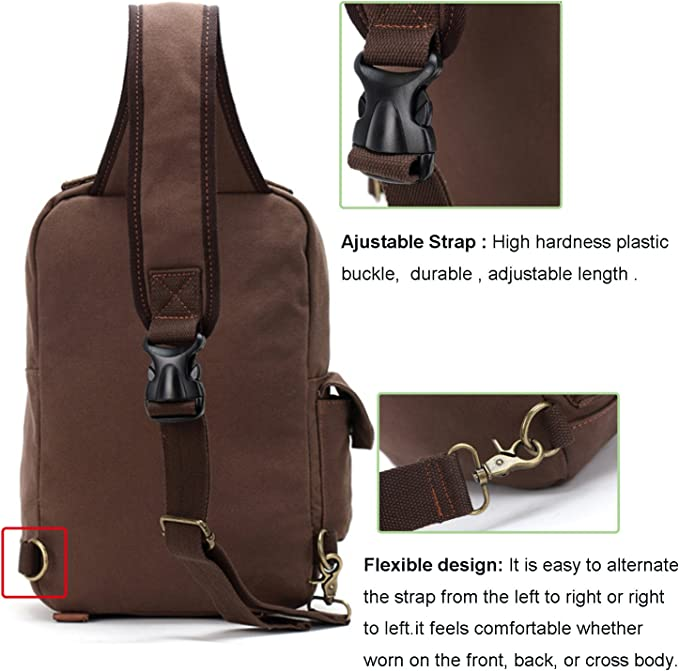 single strap shoulder messenger bag