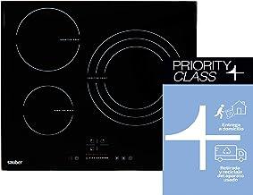 Sauber - Vitrocerámica de Inducción SEV03-3 zonas de cocción - Ancho: 60cm