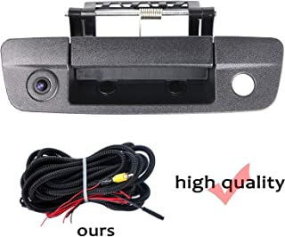 HD 1280x720p Rear Reversing Backup Camera Rearview Tailgate Handle Replacement Camera Night Vision Ip69k Waterproof for Pick-up Dodge Ram 1500 2500 3500 2009-2012