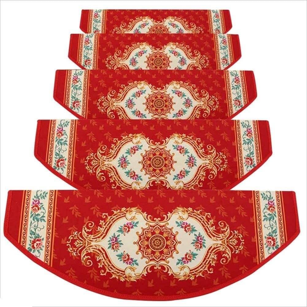 TUOL1AO Stair Carpet Treads Pads Self Europea Inventory cleanup selling sale Step Adhesive Inventory cleanup selling sale Mats