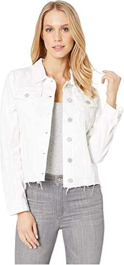 White Denim Jacket in Lightbox White