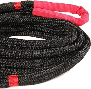"Rugged Ridge 15104.05 Kinetic Recovery Rope, 7/8"" x 30-Feet, 7500 WLL"