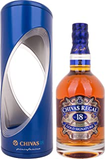 Chivas Regal Scotch 18 Years Old Gold Signature Pininfarina Edition Whisky mit Geschenkverpackung 1 x 0.7 l