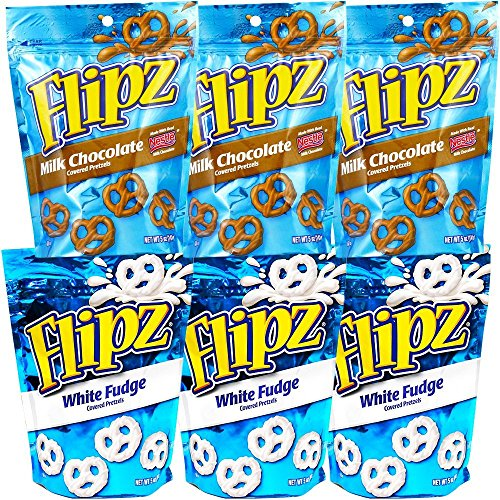 Flipz Pretzels Variety Pack 325 Pack of 6 Variety Pack 6 Pack 325 Ounce