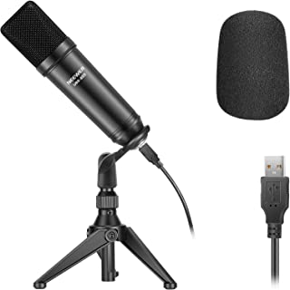 Neewer USB200 USB Microphone Kit 192KHz/24Bit Plug&Play Cardioid Podcast Condenser Mic with Professional Sound Chipset, De...