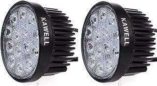 Kawell 2 Pack 42W 30 Degree Round LED Spot Light Off Road Lighting 12V 24V Jeep 4x4 Quad ATV Lighting