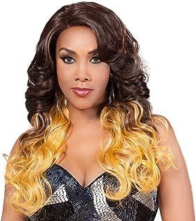 Vivica A. Fox MELROSE New Futura Fiber, Deep Lace Front Wig in Color GMCBRD