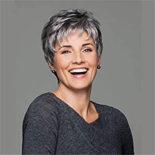 Best gray pixie wig Reviews
