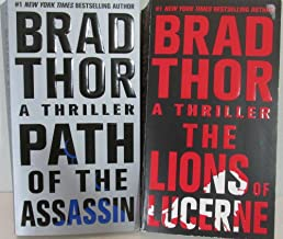 Author Brad Thor Two Book Bundle Collection Includes: Path Of The Assassin and The Lions Of Lucerne