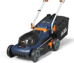 BLUE RIDGE BR8761U 40V 2.0Ah 14'' Cordless Lawn Mower Battery and Charger Included