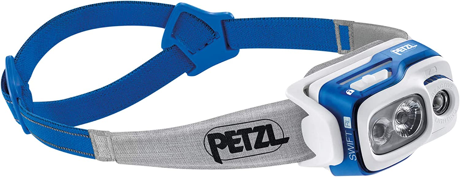 PETZL Swift RL Rechargeable Headlamp Lumens Automati with Long Beach Mall 900 New sales
