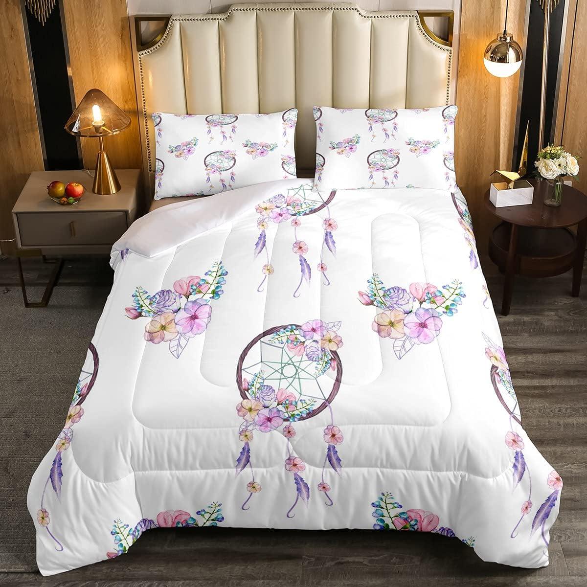 Max 70% OFF Manfei Dreamcatcher Comforter half Set Full Inser Size Bohemian Duvet