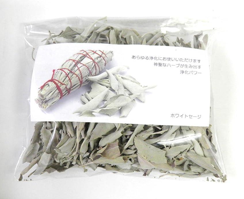 いうピック作成するホワイトセージ リーフのみ 約50g 浄化用 オーガニック 無農薬 お香 プロ用 パワーストーン