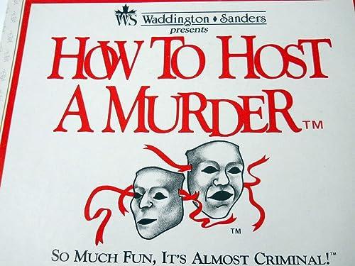 ahorra hasta un 30-50% de descuento How to Host a Murder The Watersdown Affair by by by Waddington Sanders  salida de fábrica