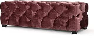 Christopher Knight Home Living Provence Blush New Velvet Rectangular Ottoman