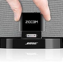 Adaptador Bluetooth Bose 30 Pines,para Bose soundock y Otras Estaciones de Acoplamiento de Musica de 30 Pin iPhone iPod Dock Speaker,( No es Compatible con Cualquier Automovil o Motocilcleta