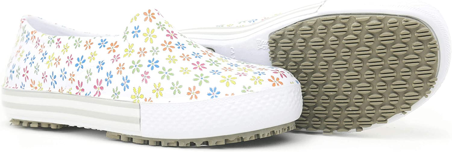 GRIP/&COMFY Lightweight Non-Slip Waterproof Professional Shoes for Women