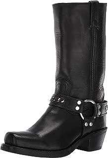 FRYE Women's Harness 12r Chain Mid Calf Boot