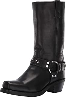 FRYE Women's Harness 12r Chain Mid Calf Boot