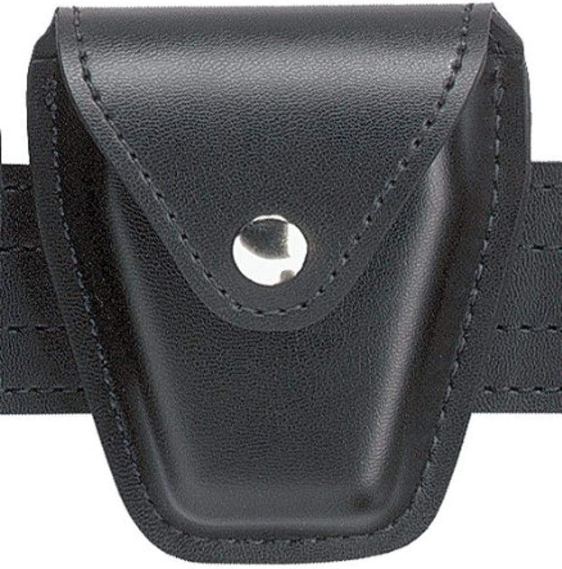 新品 送料無料 Safariland Duty Gear 送料無料でお届けします ASP Cuff Chrome Handcuff Pouc Top Snap Flap