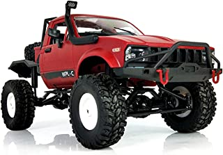 YIKESHU Rc Truck, 1:16 ScaleRemote Control Car 2.4GHz 4WD RC Off-Road Vehicles High Speed Fast Racing Monster Vehicle Hobby Truck Electric Hobby Toy for Boys Girls Adults
