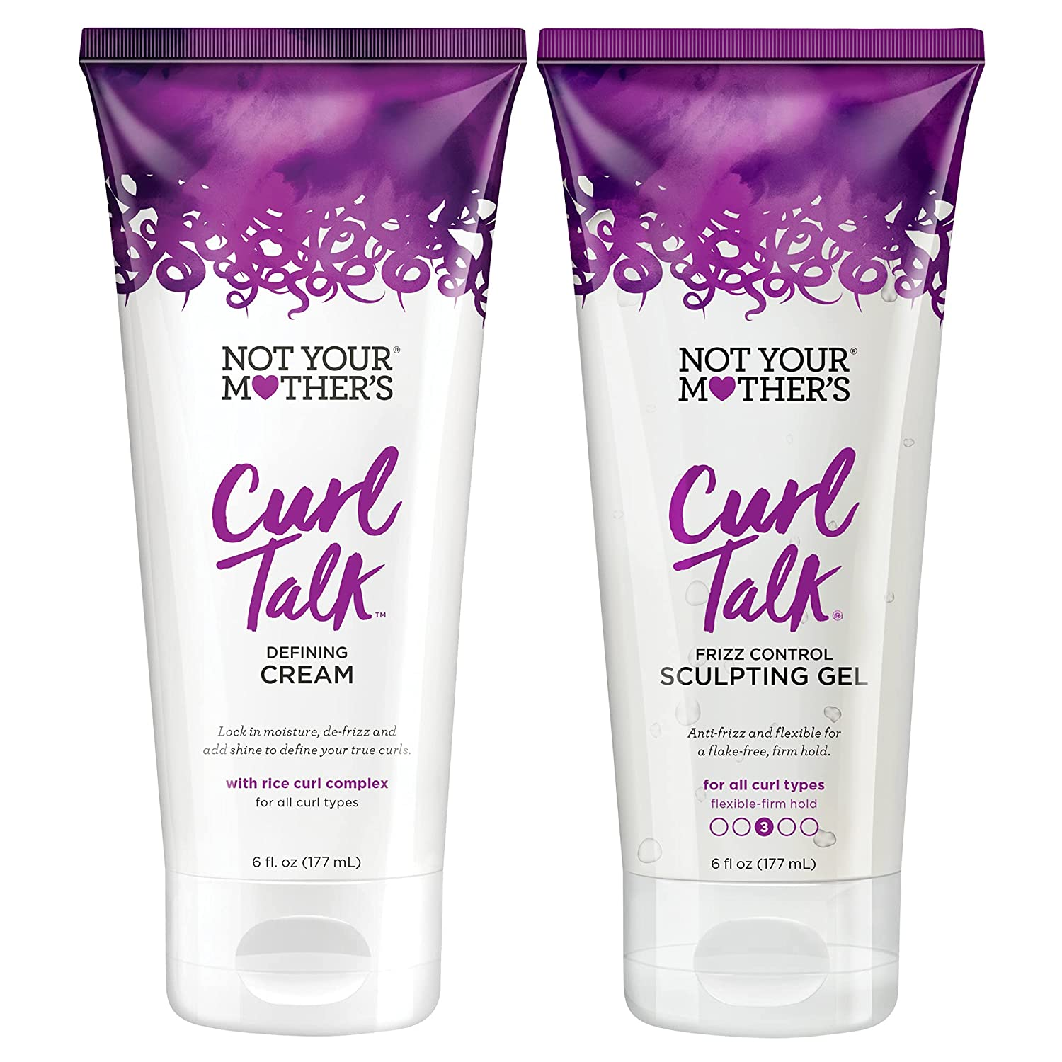 Not Max Super sale period limited 76% OFF Your Mother's Curl Talk Cream Set - + Styling Gel