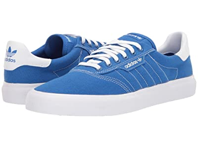 adidas Skateboarding 3MC (Blue/Off-White/Off-White) Men
