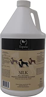 Espana Silk ESP0225DC Specially Formulated Silk Protein Waterless Shampoo for Dogs and Cats, 135.28-Ounce