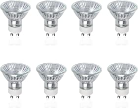 VTERLY GU10 Halogeenlampen, 8 Stuks 50W GU10 Halogeen Reflector 220-240V, 2800 K Warm Wit, 700 lumen, 40° Stralingshoek, D...