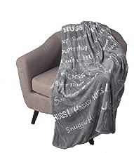Blankiegram Hugs Blanket The Perfect Caring Gift (Grey)