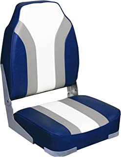 Leader Accessories High Back Fishing Folding Boat Seat