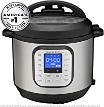 Instant Pot Duo Nova 6-Quart 7-in-1, One-Touch Multi-Use Programmable Pressure Cooker, Slow Cooker, Rice Cooker, Steamer, Sauté, Yogurt Maker and Warmer with New Easy Seal Lid