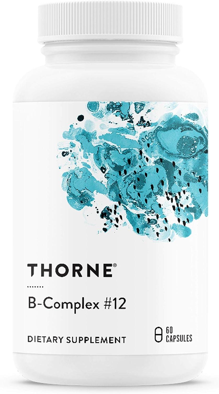 Max 60% OFF Thorne Research Sacramento Mall - B-Complex #12 Active Vitamin B Complex with