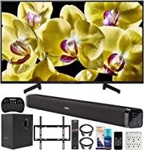 $728 » Sony XBR-49X800G 49-inch 4K UHD LED Smart TV (2019) Bundle with Deco Gear 60W Soundbar with Subwoofer, Deco Mount Flat Wall Mount Kit, Wireless Keyboard, Screen Cleaner and 6-Outlet Surge Adapter