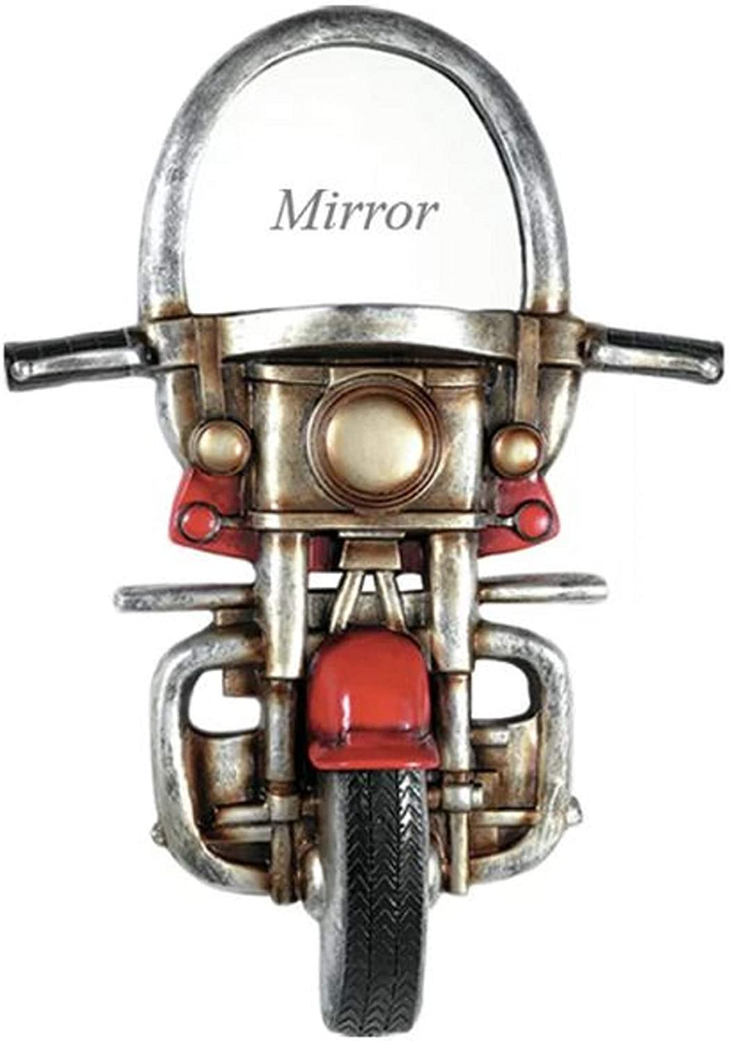 House Decoration Modern Accent Mirror. Cleaves Motorcycle House Decoration Modern Accent Mirror Metal Frame greenical Wall Mounted Grey