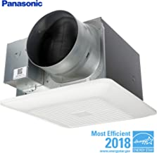 Panasonic FV-1115VK2 WhisperGreen Multi-Flow Bathroom Fan, White