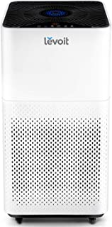 LEVOIT Purifier for Home Large Room with True HEPA Filter Air Cleaner for Allergies and Pets, Smokers, Mold, Pollen, Dust, Quiet Odor Eliminators for Bedroom, LV-H135, WHITE