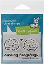"Lawn Fawn Clear Stamps 3""X2"" - Hedgehugs (Pack of 3)"