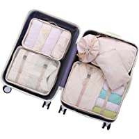 OEE 6-Piece Luggage Packing Organizers Cubes Set