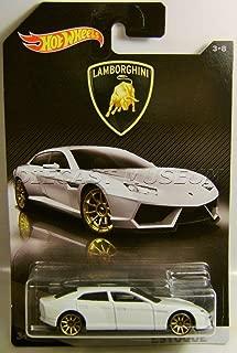 Hot Wheels 2017 Lamborghini Series Lamborghini Estoque 3/8, White